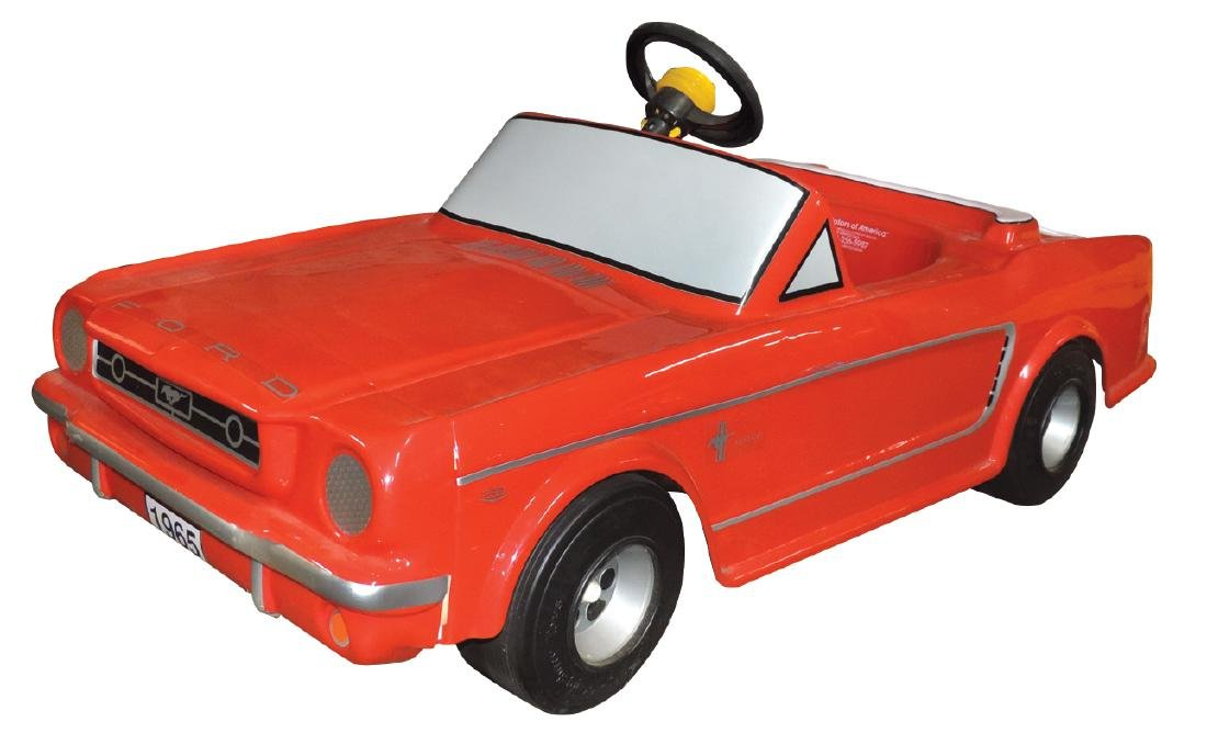 Children's pedal car, Ford 1965 Mustang, by Mini-Motors