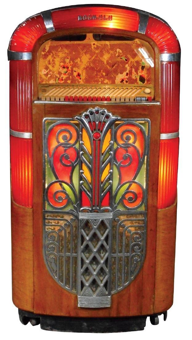 Coin-operated jukebox cabinet, Rockola Model 1426, no