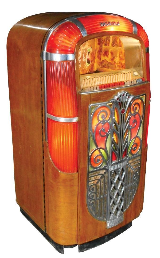 Coin-operated jukebox cabinet, Rockola Model 1426, no - 3