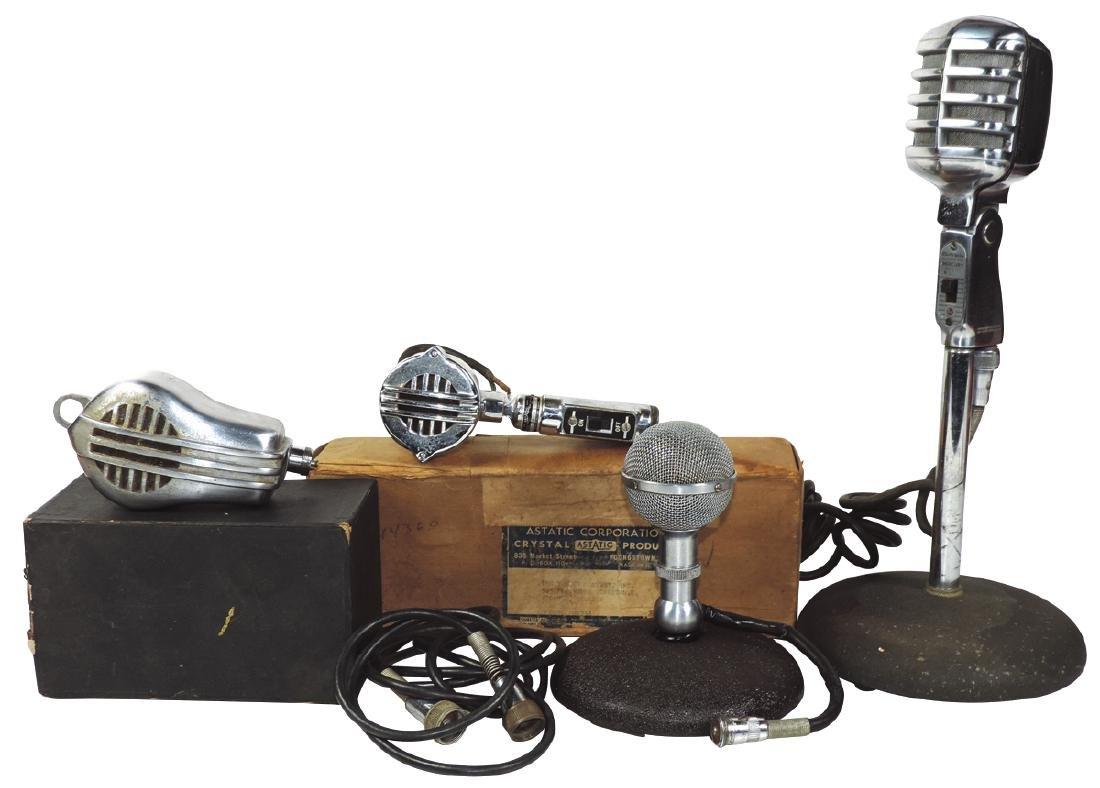 Microphones (4), 1 Electro-Voice Mercury Model 911