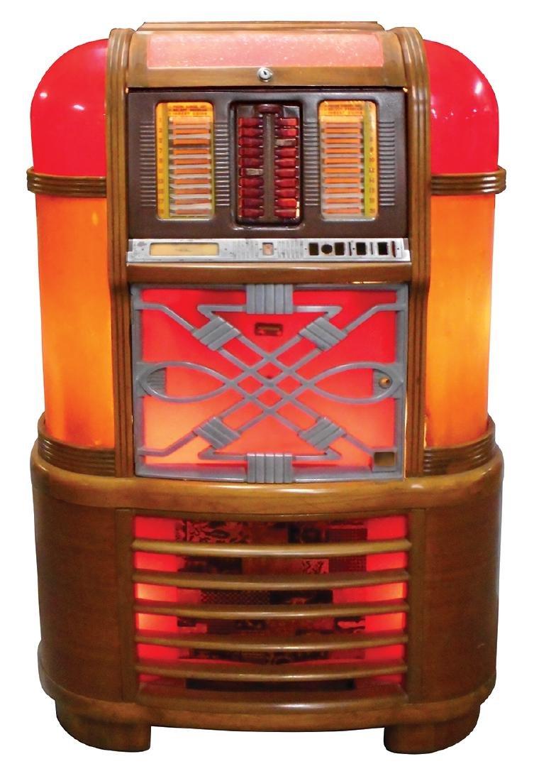 Coin-operated jukebox, Rockola Master MAS-40, solid