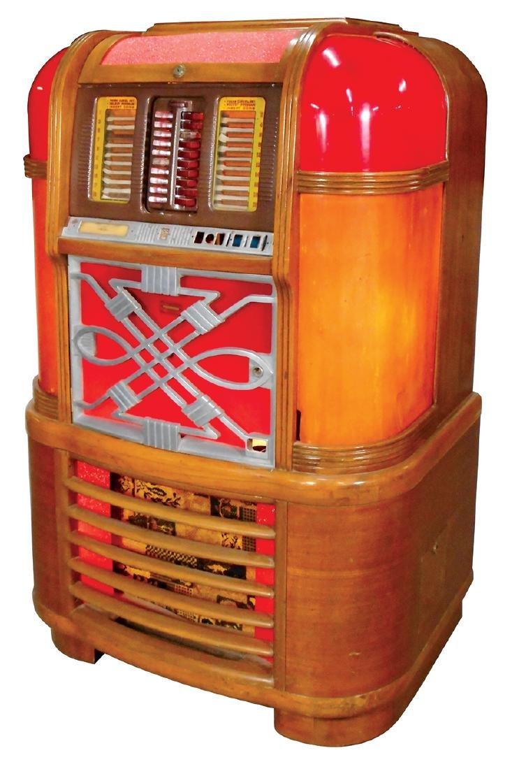 Coin-operated jukebox, Rockola Master MAS-40, solid - 2