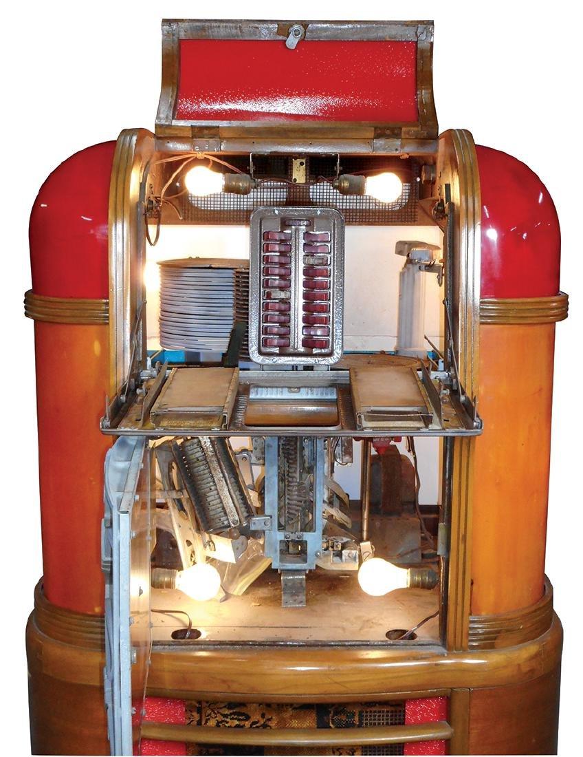 Coin-operated jukebox, Rockola Master MAS-40, solid - 3