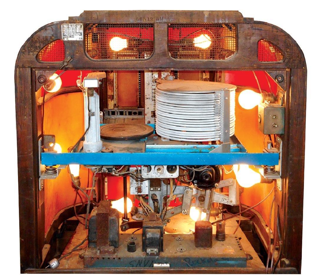 Coin-operated jukebox, Rockola Master MAS-40, solid - 4