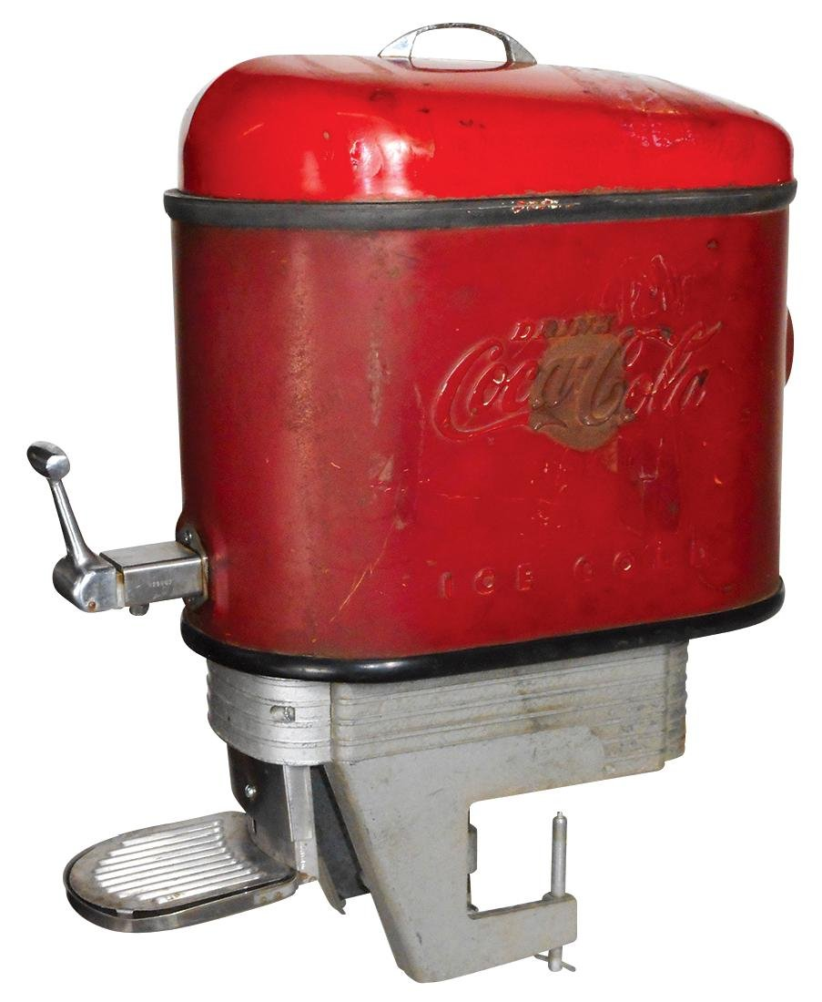 Soda fountain dispensers (2), Coca-Cola Selmix,
