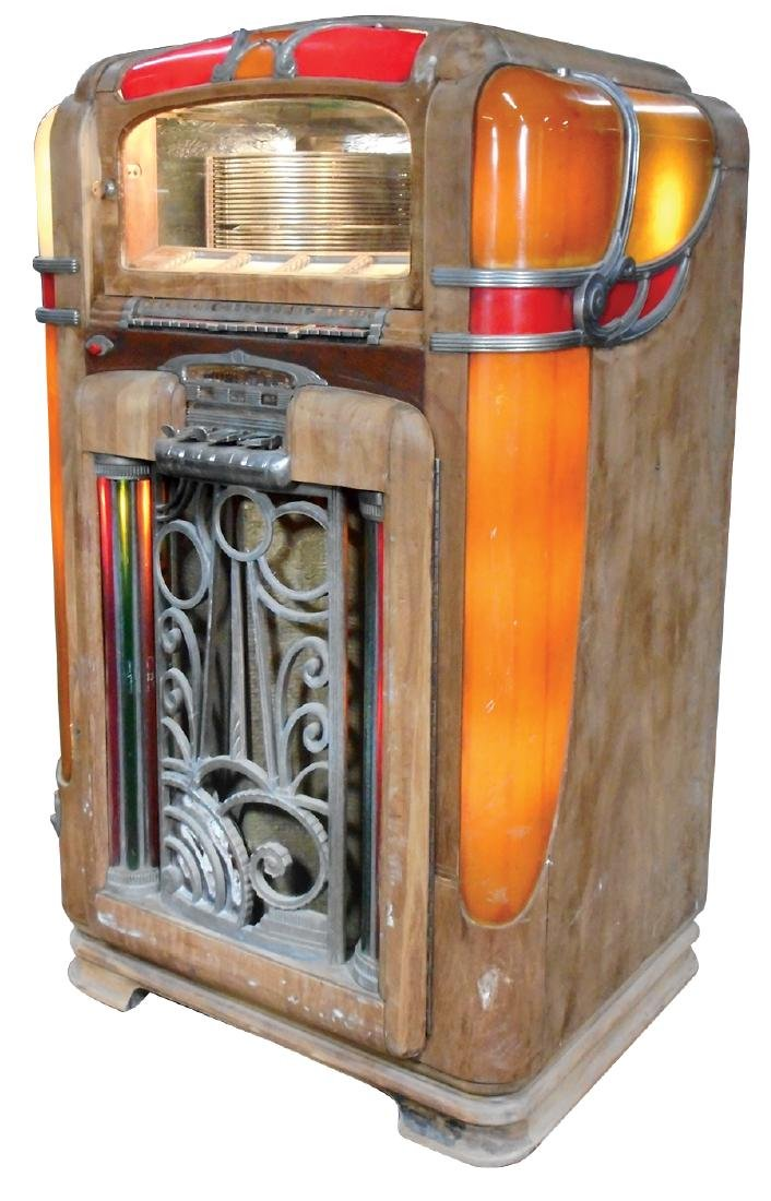 Coin-operated jukebox, Wurlitzer Model 700, c.1940's, - 2