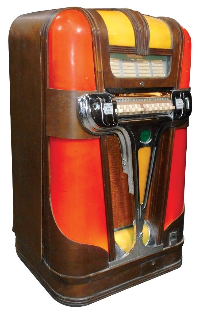 Coin-operated jukebox, Mills Empress, c.1939, solid - 3
