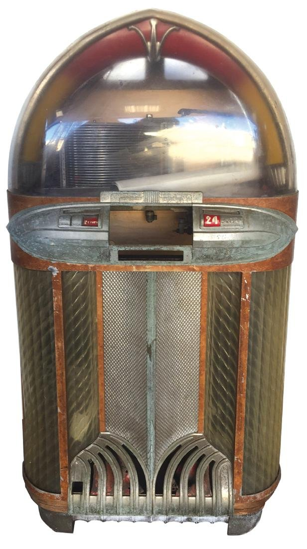 Coin-operated jukebox, Wurlitzer 1100 project machine