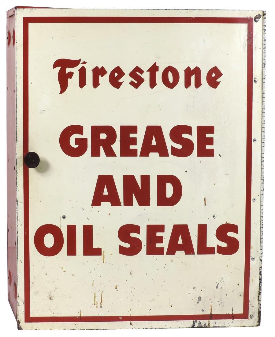 Automotive sign & wall cabinet (2), Firestone - 3