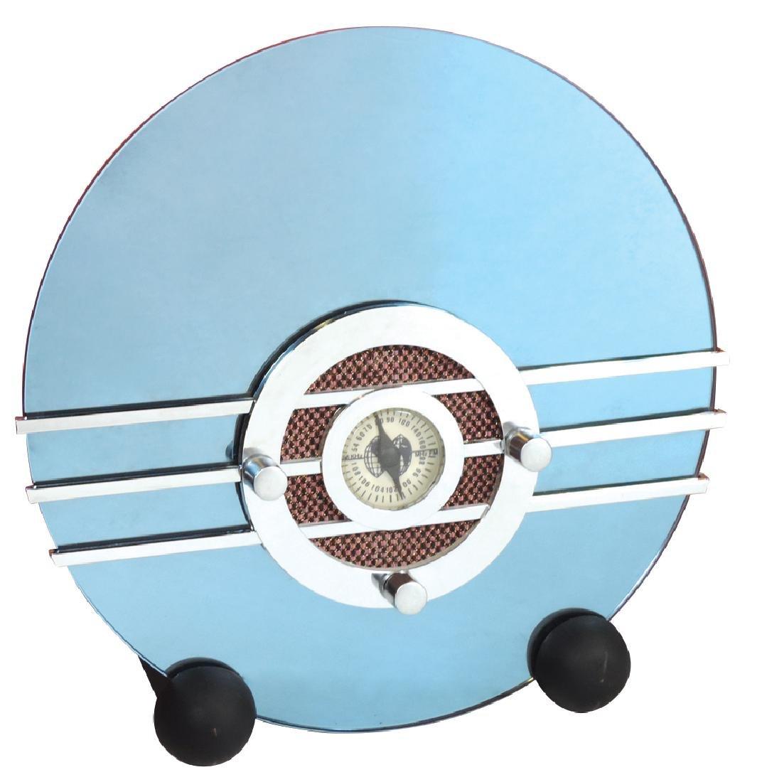"Radio, Art Deco contemporary Sparton ""Bluebird"", AM-FM"