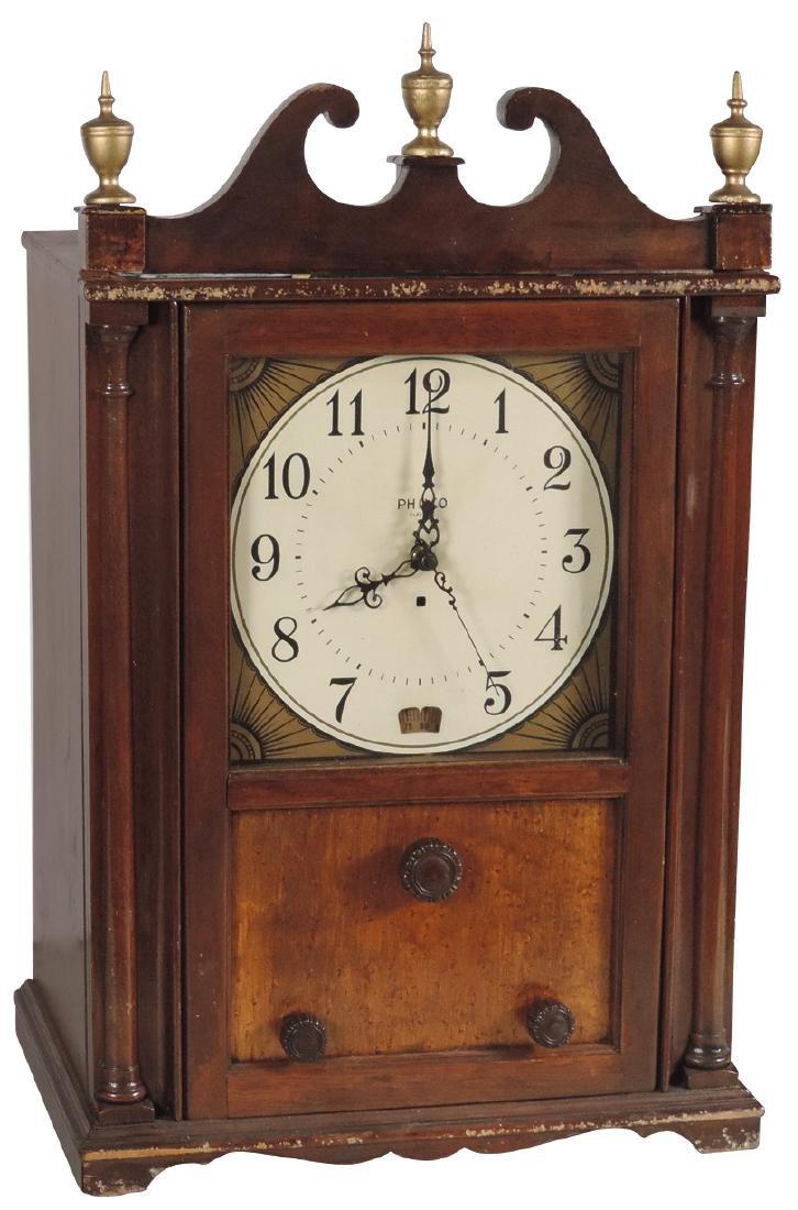 Radio, Philco Colonial Clock, Model 551, standard