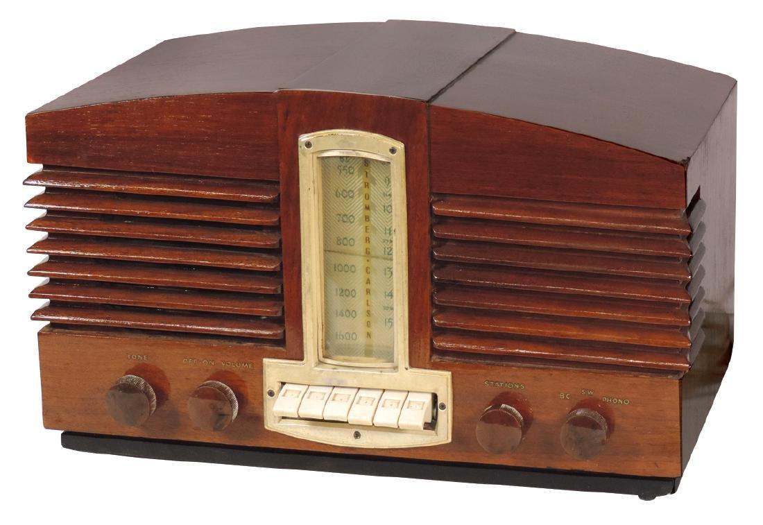 Radio, Stromberg-Carlson, Model 1110 series 10, wood