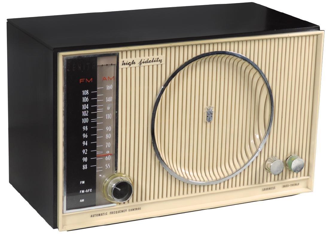 Radio, Zenith High Fidelity, Model S-53557, 2-tone