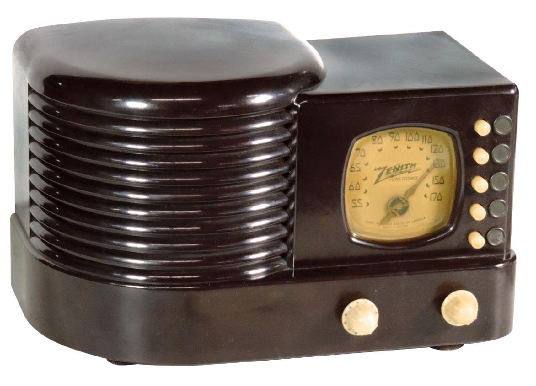 Radio, Zenith Long Distance, Model 5R312, broadcast,