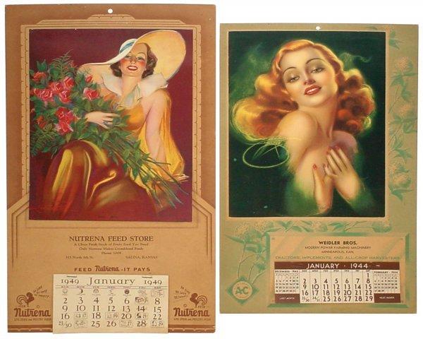 4: Allis Chalmers calendar from Weidler Bros.-Minneapol