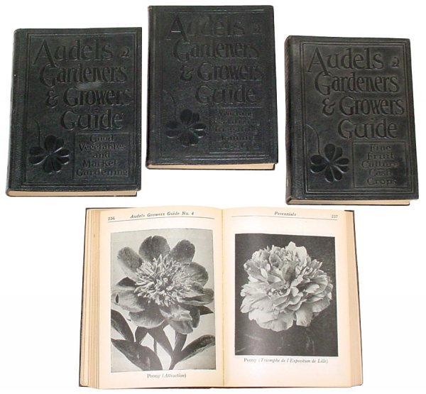 7: Audels Gardeners & Growers Guide by E.C. Vick, 4 lea