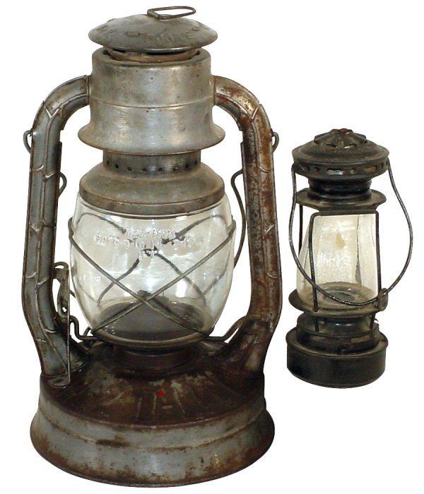 10: Dietz lanterns (2), Dietz Scout, pat. Feb. 10, 1914