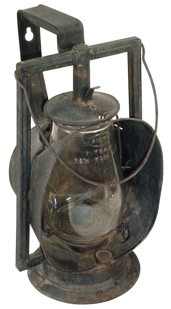 20: Railroad lantern, Dietz Acme Inspector Lamp w/embos