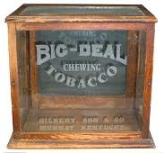 490: Big Deal Chewing Tobacco countertop showcase, orig