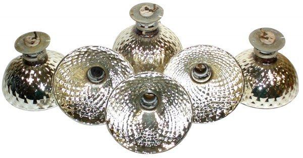 703: Lighting, drug store back bar quilted mercury glas