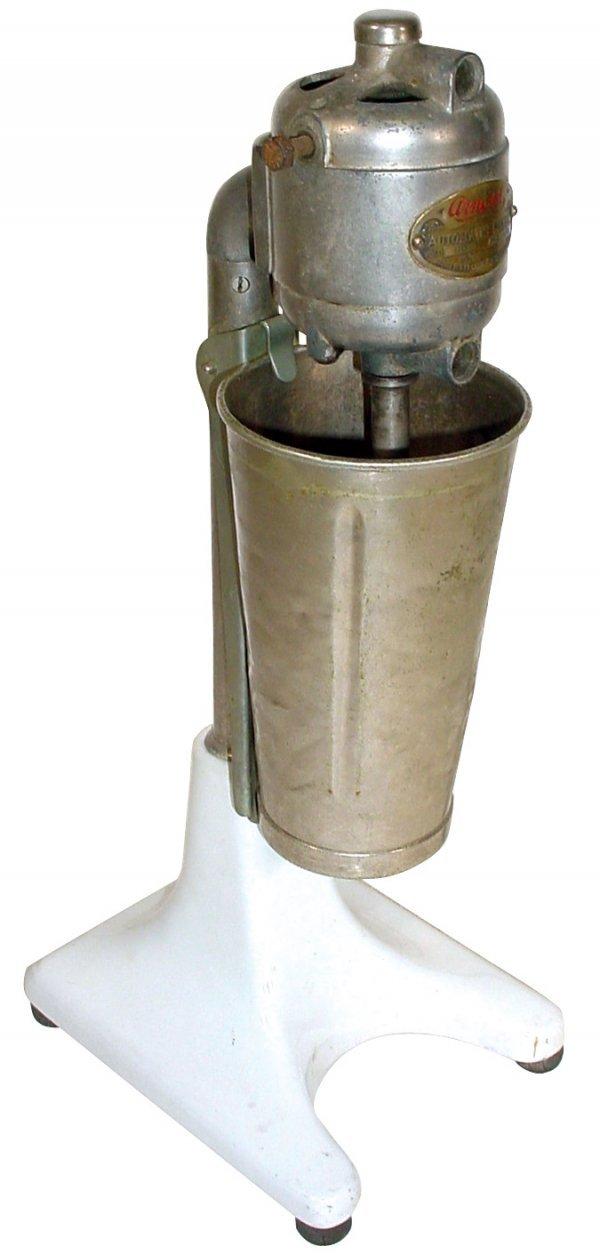 706: Soda fountain Arnold Malt Mixer w/white porcelain