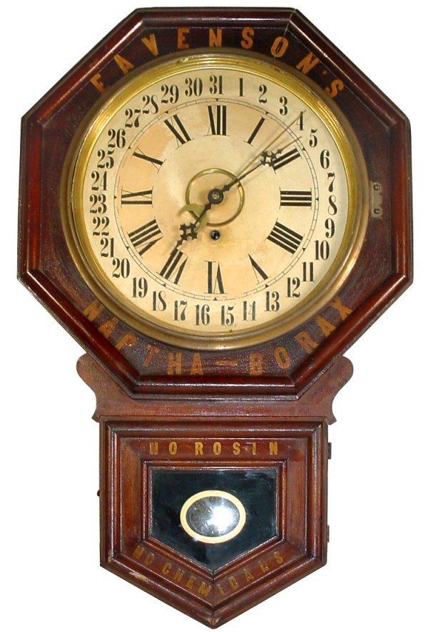 """713: Advertising regulator calendar clock for """"Eavenson"""