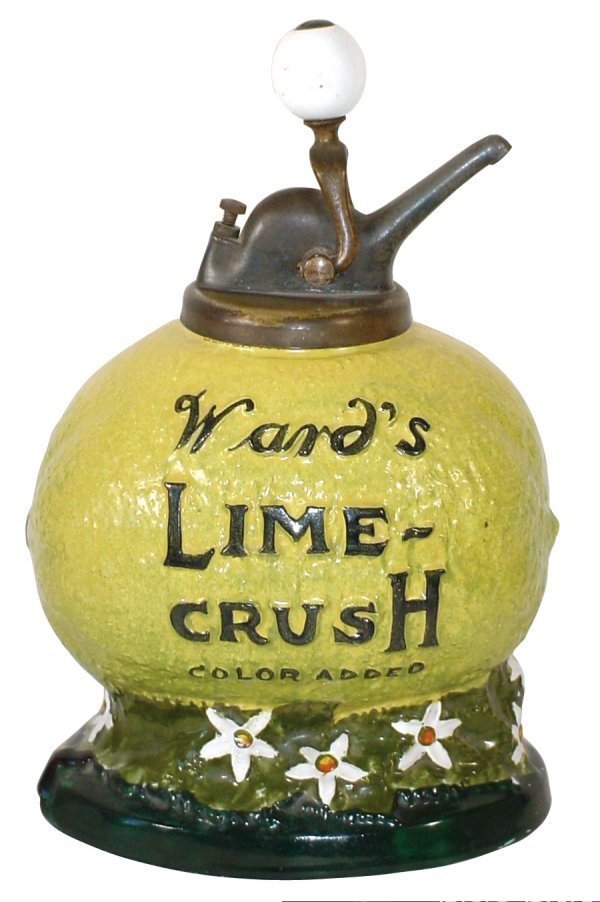 1049: Soda fountain syrup dispenser, Ward's Lime Crush-