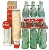 """Coca-Cola items (4), """"Drink Coca-Cola in Bottles"""""""