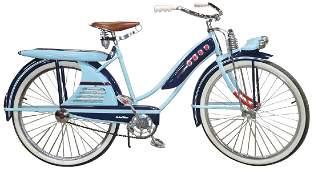 "Bicycle, J. C. Higgins, ""Color-Flow"", sold by Sears,"