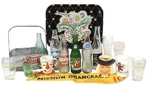 Soda fountain items (18), Pepsi-Cola double-dot