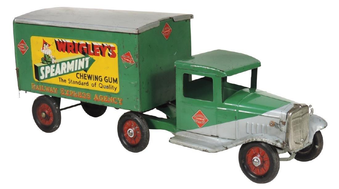 """Toy Buddy """"L"""" Wrigley's Spearmint Railway Express"""