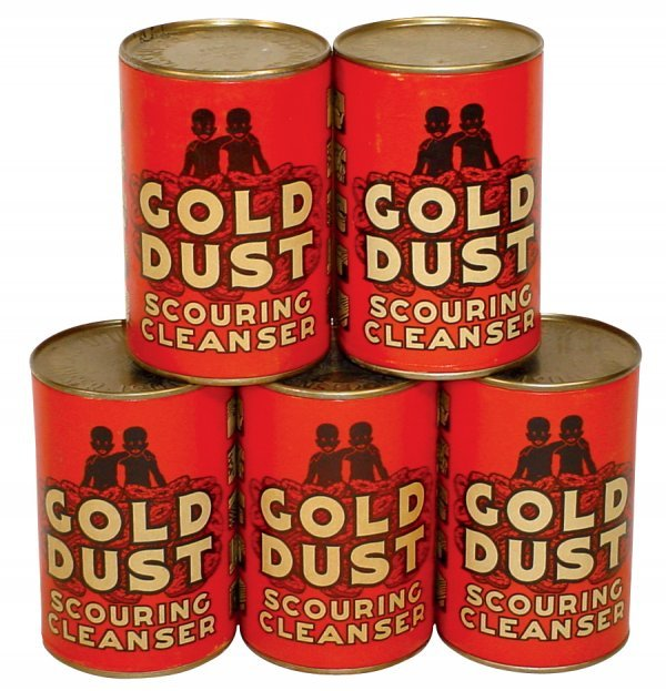 18: Black Americana, (5) Gold Dust Scouring Cleaners, 1
