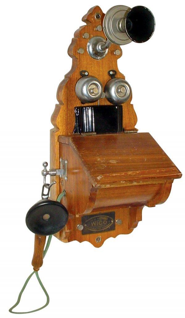261: Telephone, Wico Electric Company, Type EK, made in