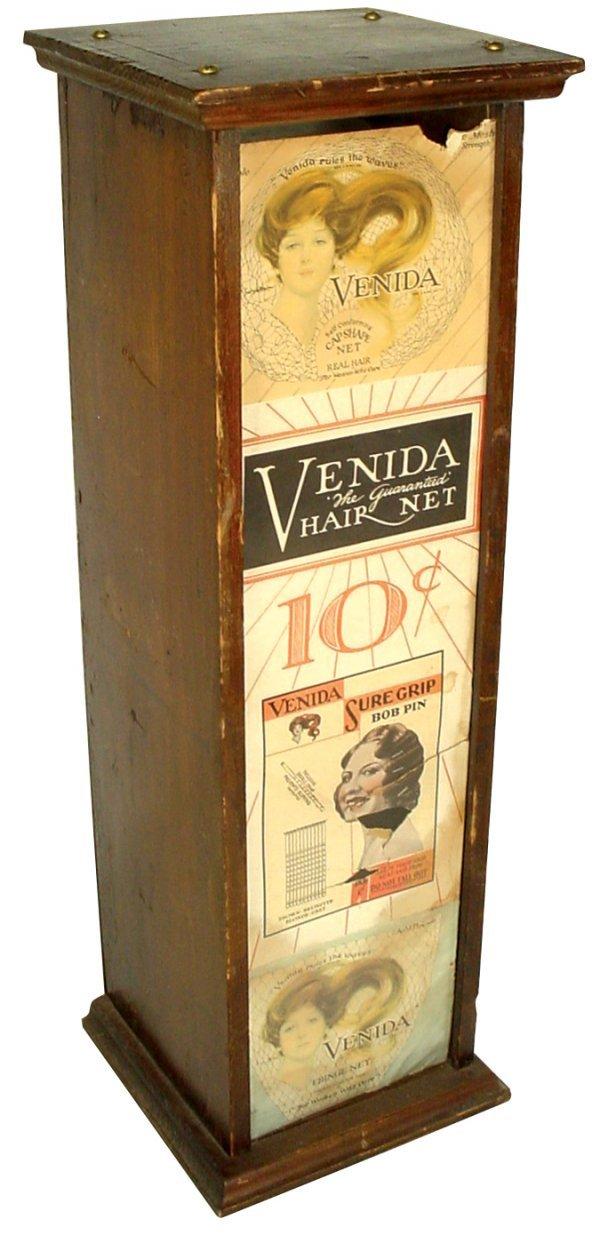 454: Venida Hair Net countertop display, 10 Cents a Net