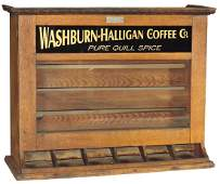 Country store coffee dispensing cabinet,