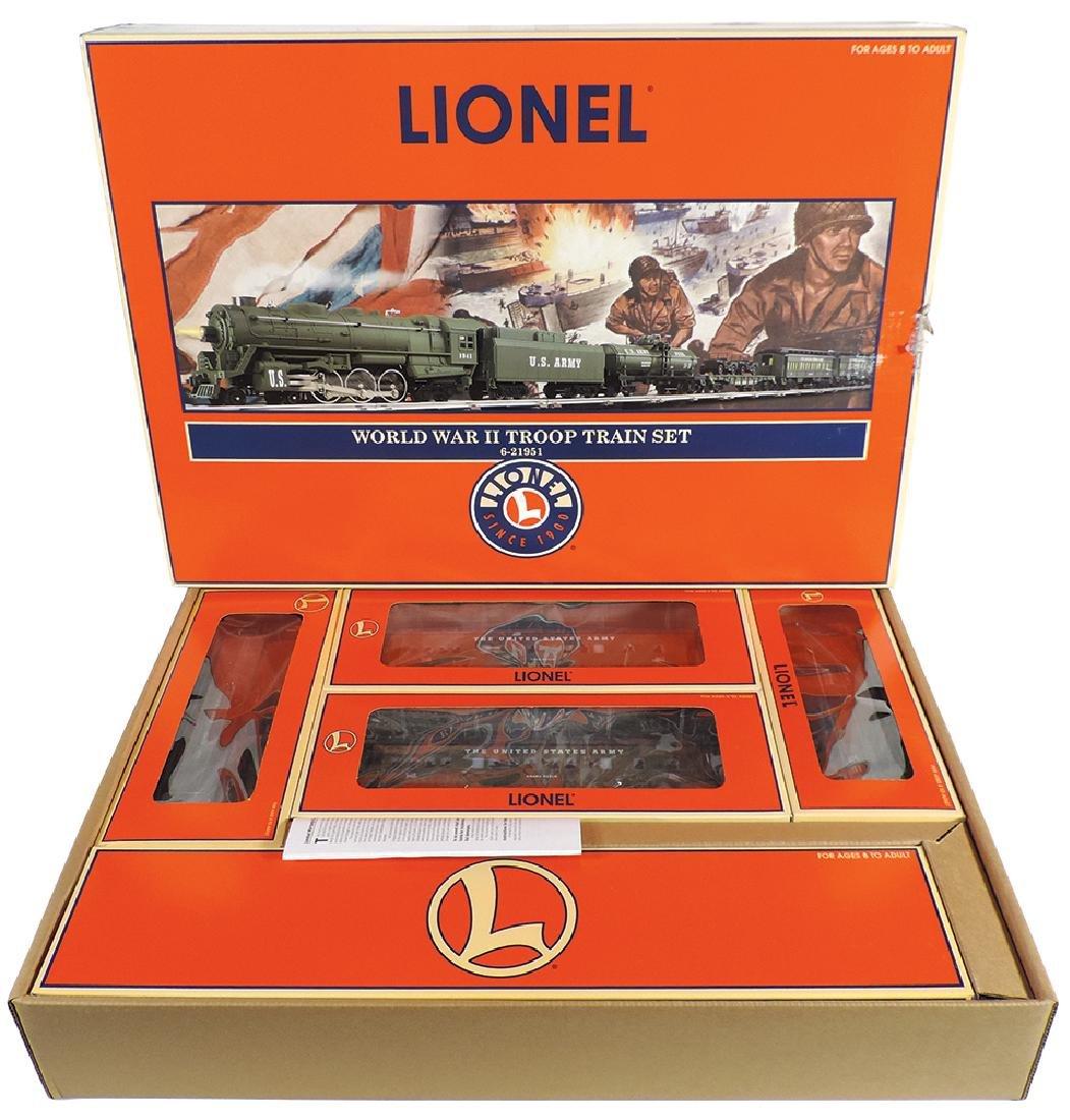 Toy train set, Lionel World War II Troop Train Set No.