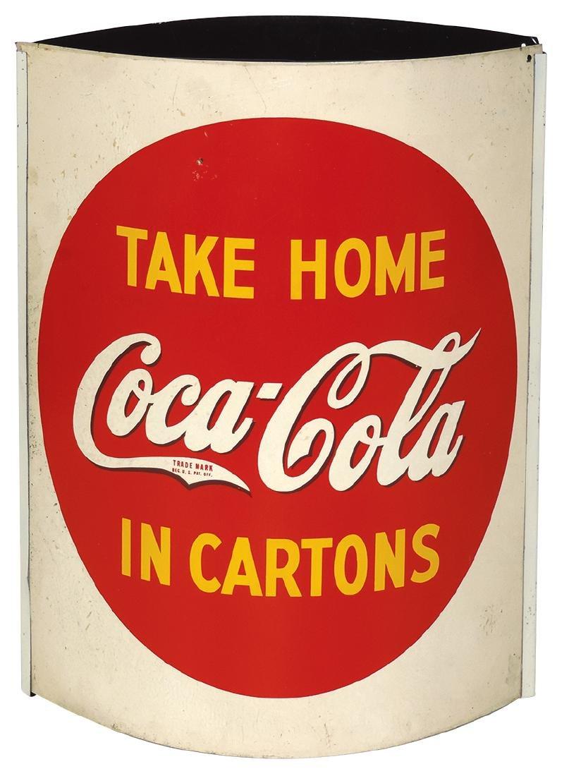 """Coca-Cola string holder, """"Take Coca-Cola Home in"""