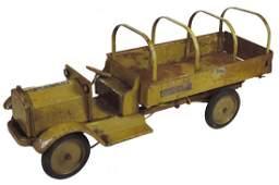 Toy Keystone Packard U.S. Army Transport Truck, pressed