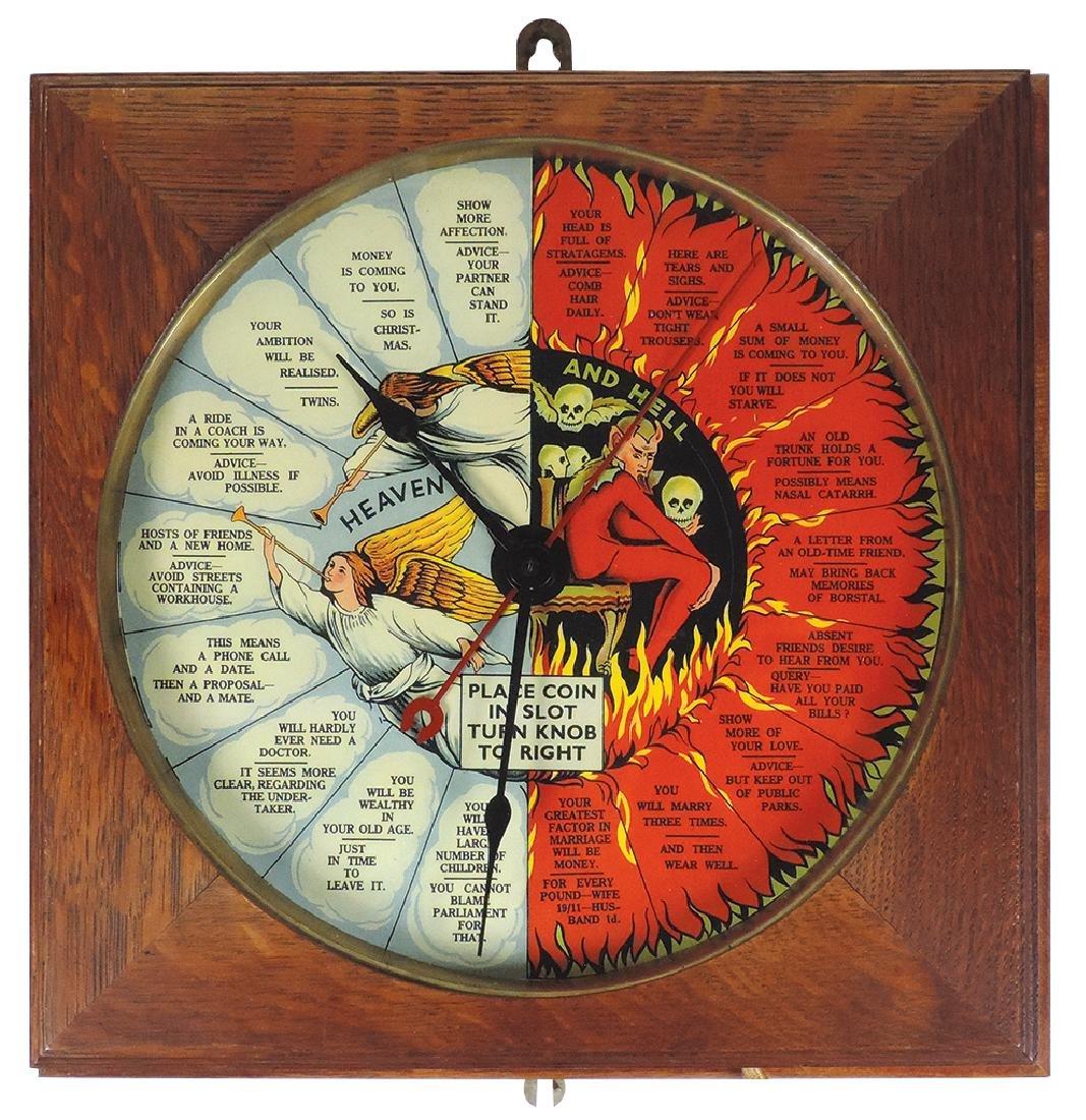 Trade stimulator fortune telling clock, Heaven