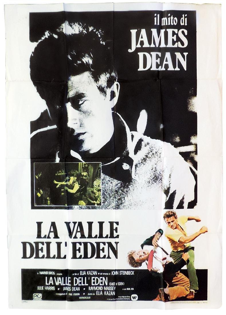 Original movie poster, Italian La Valle Dell' Eden