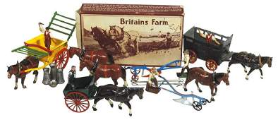 Britains & JOHILLCO lead figures (approx 14), Britains