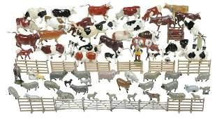 Britains & JOHILLCO lead farm animals (approx 74),