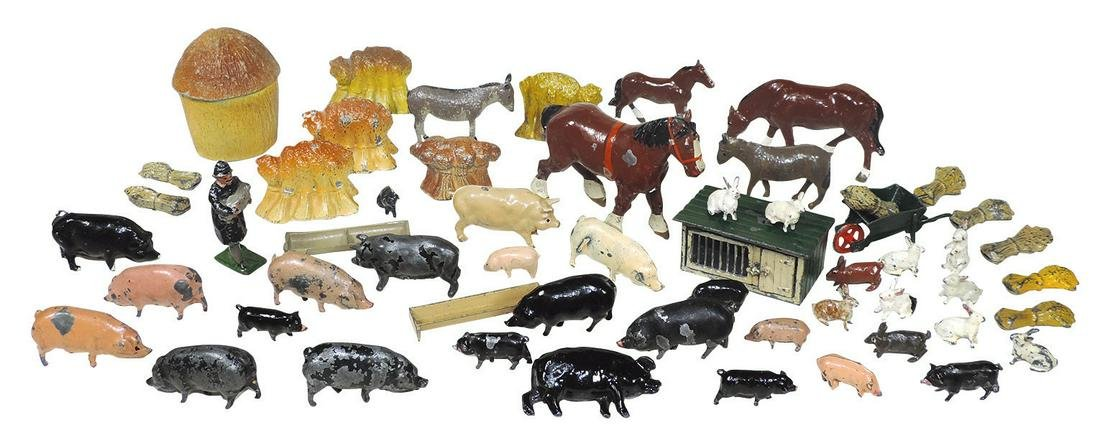 Britains & JOHILLCO lead figures (approx 55), all farm