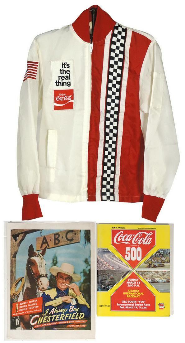 Coca-Cola 500 Racing Jacket & Souvenir 22nd Annual
