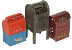 Still banks 3 Hubley Standing Mailbox large