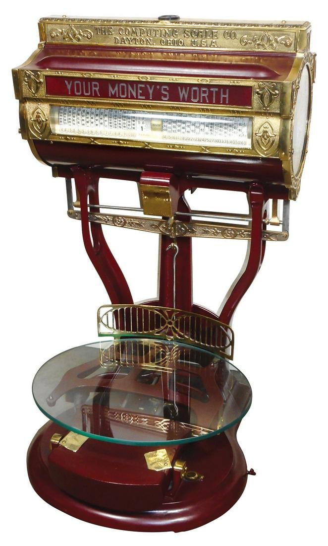 Country store light-up scale, The Computing Scale