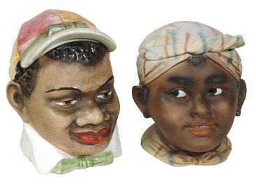 Black Americana humidors (2) Austrian jockey & German