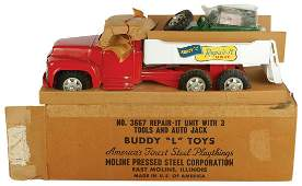 """Toy truck, Buddy """"L"""" Repair-It Unit w/3 Tools & Auto"""