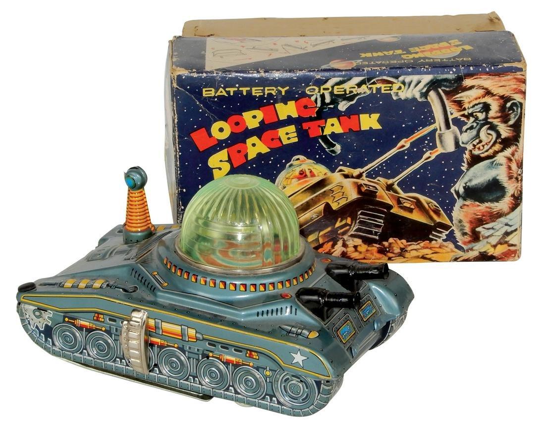 Toy Looping Space Tank, mfgd by Diaya-Japan,