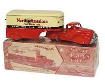 Toy truck w/box, Marx North American Van Lines Deluxe